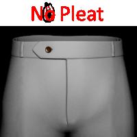 10- No Pleat