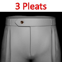 40- 3 Pleats